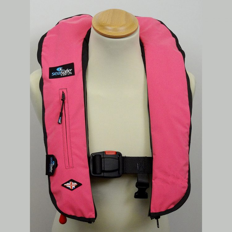 SeaSafe Systems I-Zip 170N LifeJacket - Hot Pink