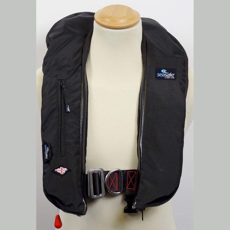 SeaSafe Systems I-Zip 170N LifeJacket - Black