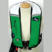SeaSafe Systems I-Zip 170N LifeJacket - Green & White