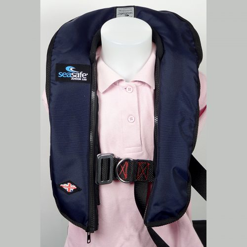 Junior Automatic LifeJacket - Navy
