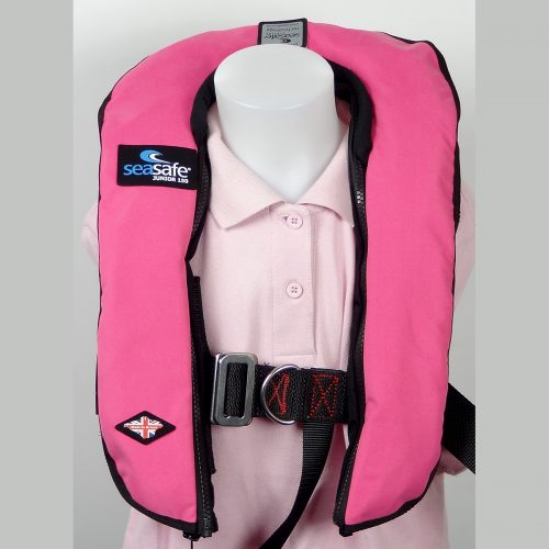 SeaSafe Systems Junior Automatic LifeJacket - Hot Pink