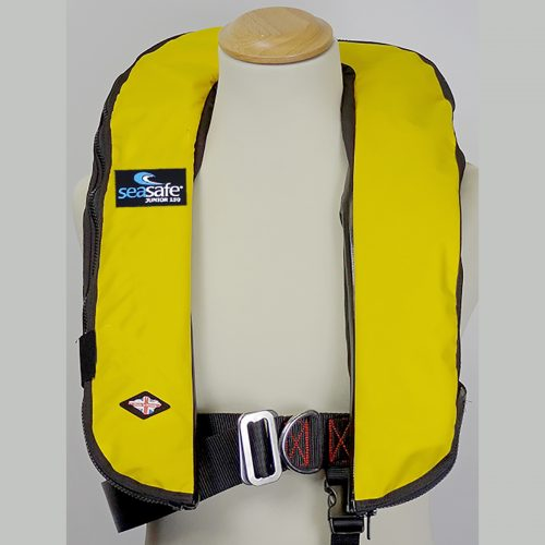 SeaSafe Systems Junior Automatic Life Jacket - Soft Yellow