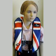 SeaSafe Systems Junior Automatic Life Jacket - Union Jack