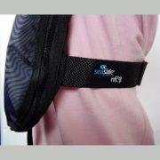 NFC CLOSE UP SIDE NAVY lifejacket - seasafe