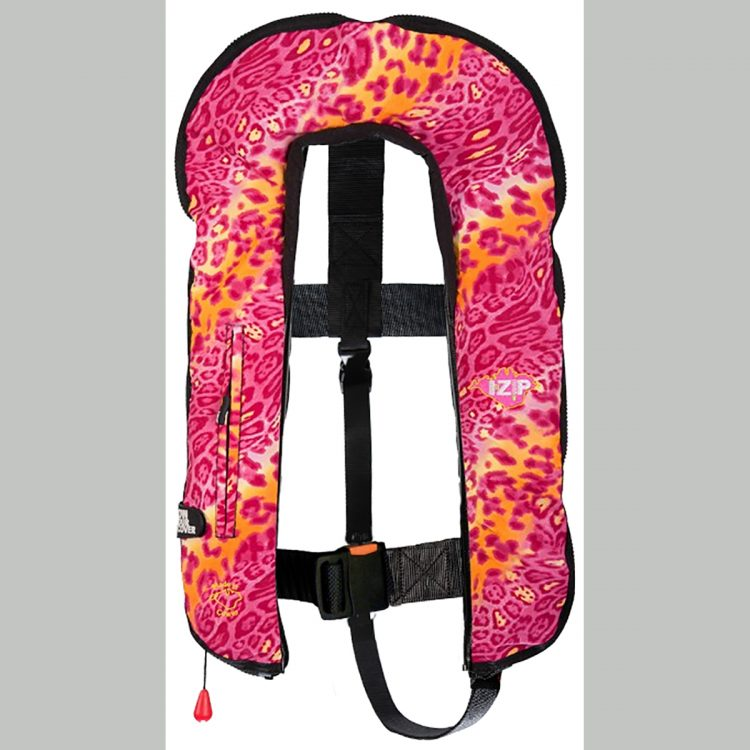 Pink Disco LifeJacket SeaSafe I-Zip