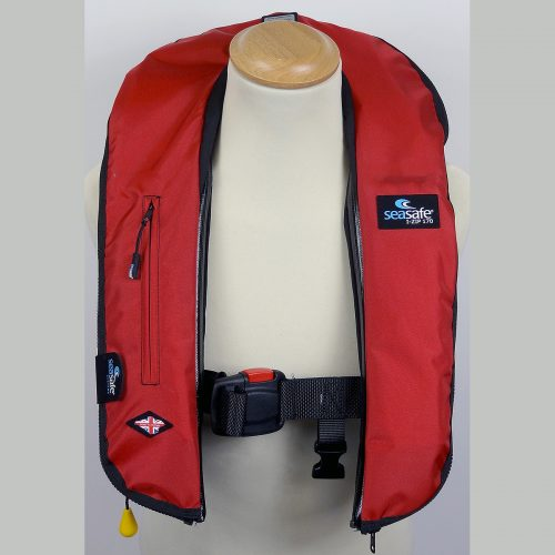 SeaSafe Systems I-Zip 170N LifeJacket - Red