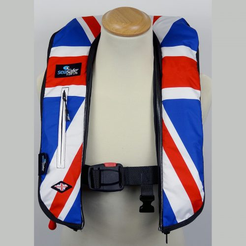 SeaSafe Systems I-Zip 170N LifeJacket - Union Jack