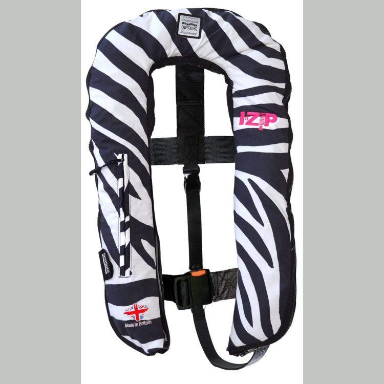 SeaSafe Systems I-Zip 170N Life Jacket - Zebra