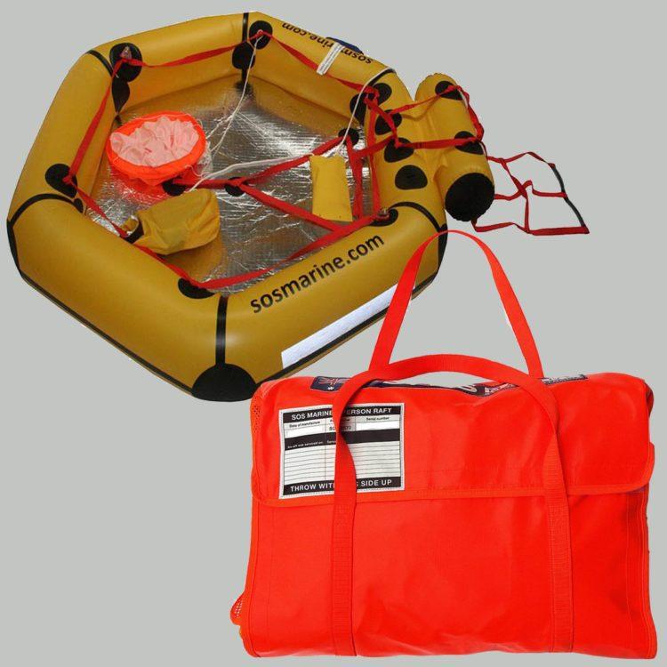 SOS Marine 2 Person Life Raft