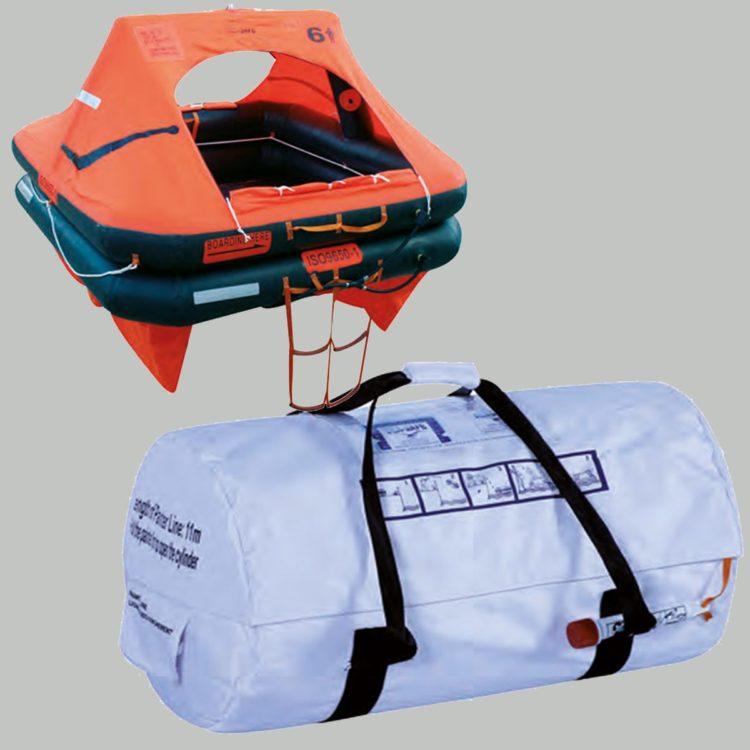 Seasafe Life Raft - Valise