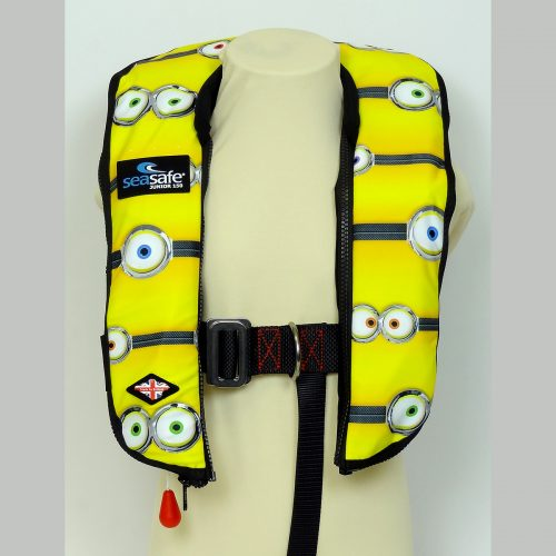SeaSafe Systems Junior Automatic LifeJacket - Eyes