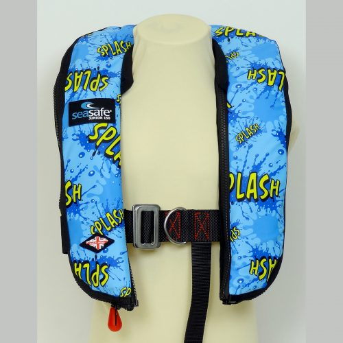 SeaSafe Systems Junior Automatic LifeJacket - Splash