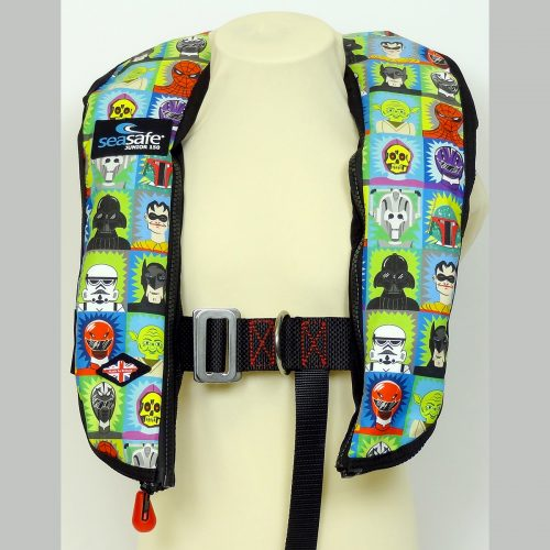 SeaSafe Systems Junior Automatic Life Jacket - Troopers