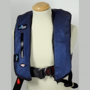 CARBON FIBRE AZURE LIFEJACKET