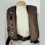 CARBON FIBRE BRONZE LIFEJACKET