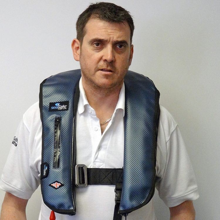 SeaSafe Systems Carbon Fibre Style Life Jackets