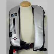 CARBON FIBRE SILVER LIFEJACKET