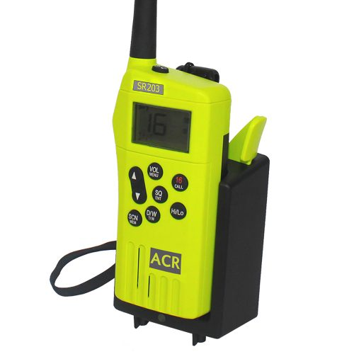 VHF ACR SR203 Radio de supervivencia