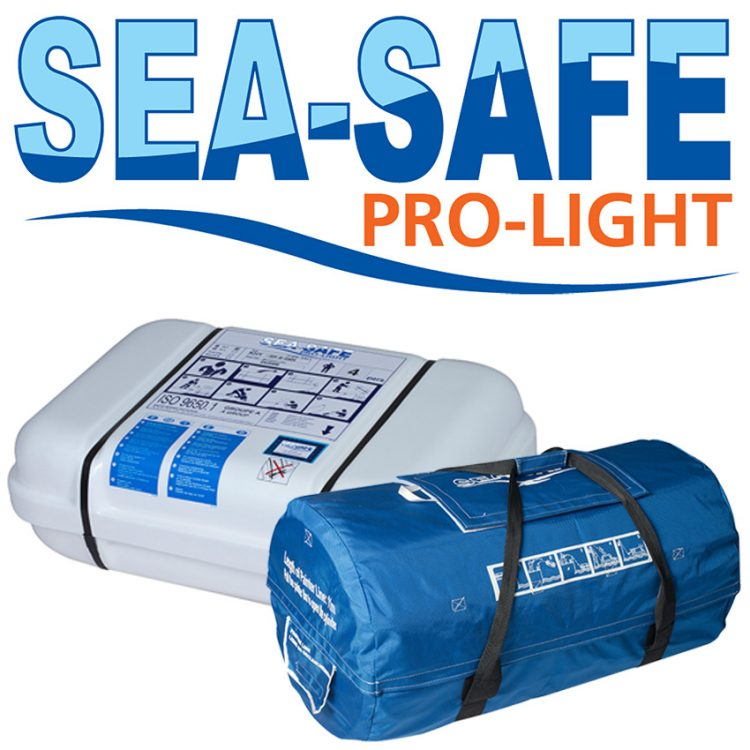 PROLIGHT SEASAFE SELF RIGHTING LIFERAFT